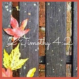 2 Timothy 4-2