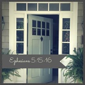 Ephesians 5-15-16