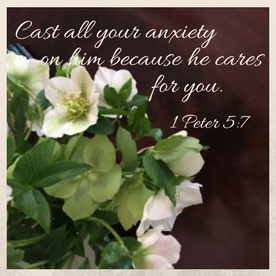 Cast all your anxiety