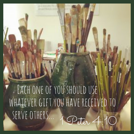 Each one of you should usewhatever gift you have received to serve others